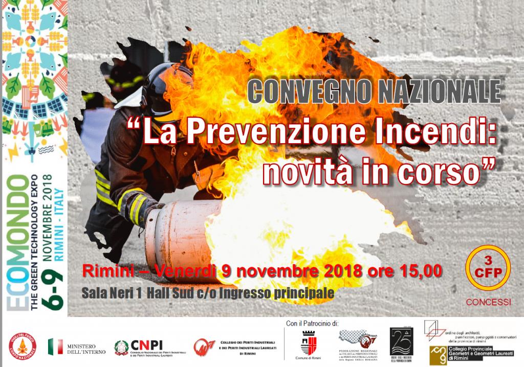 convegno culcangas prevenzione incendi 2018 ecomondo