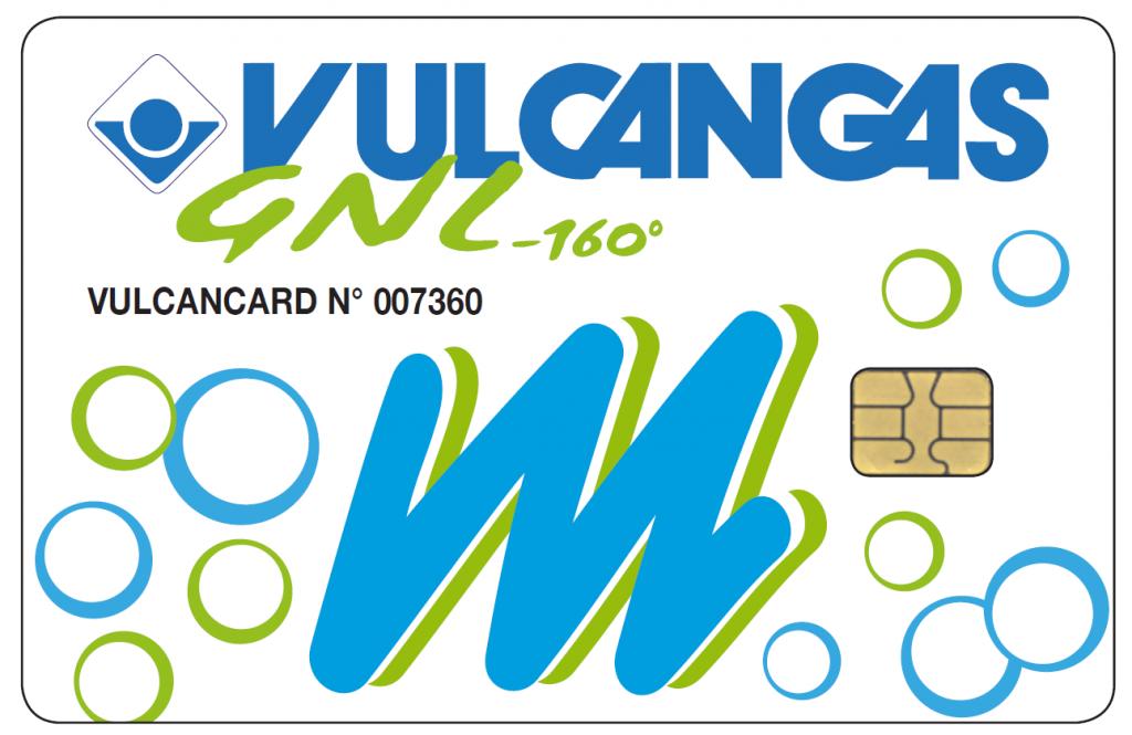 vulcangas card GNL