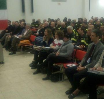 vigili del fuoco sala conferenze bologna aprile 2019 GNL vulcangas