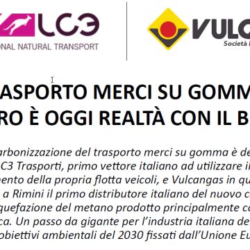 La strada verso la decarbonizzazione del trasporto merci su gomma è defini7vamente segnata